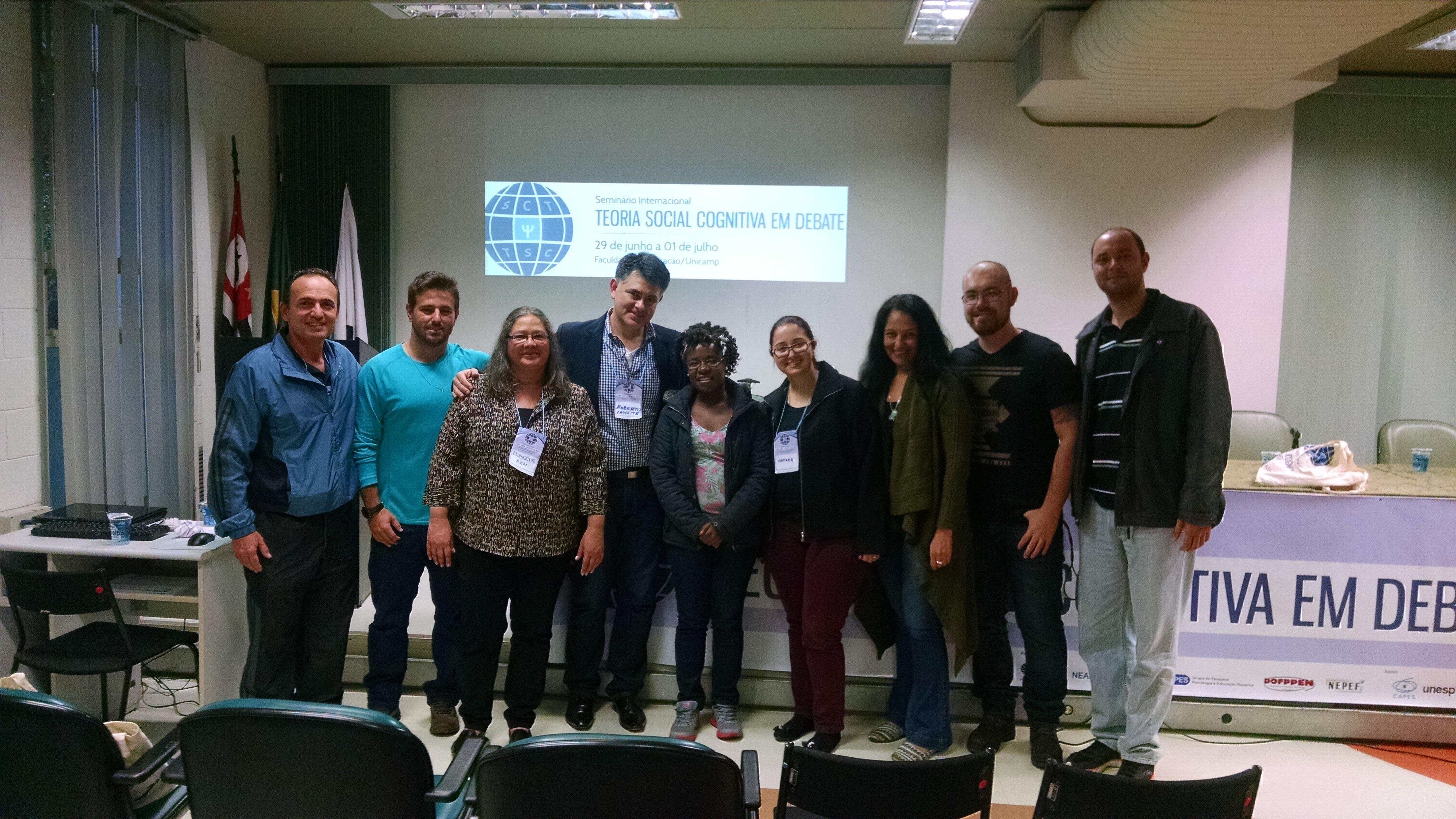 Evento: I Seminário Internacional Teoria Social Cognitiva em Debate